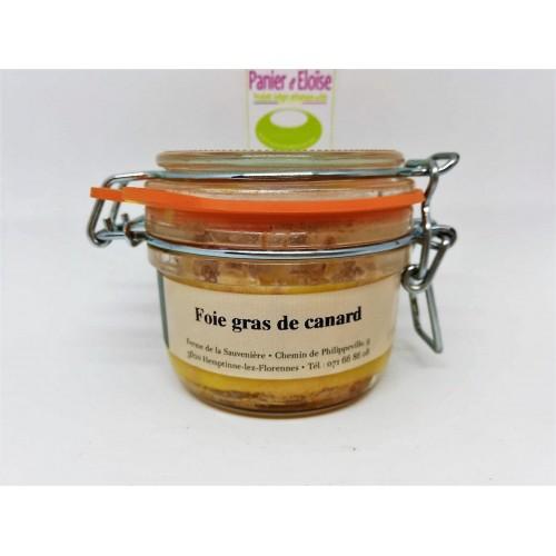 Foie gras en verrine 130 g (Ferme de la Sauvenière)