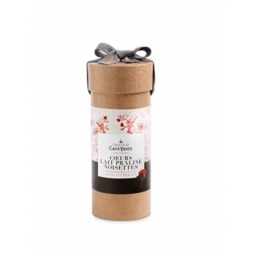 Coeurs lait praliné 169 g (Café-Tasse)