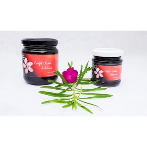 Gekonfijte hibiscus 125 g (Biscus)