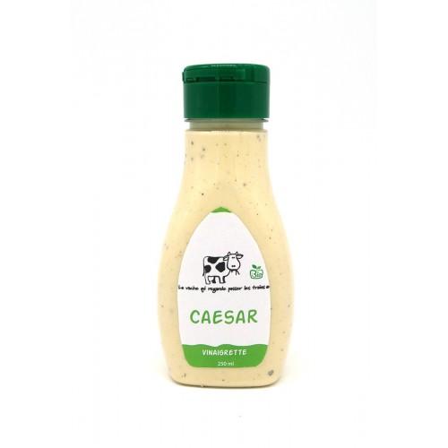 Vinaigrette honing & mosterd bio 250 ml (La vache qui regarde passer les trains)