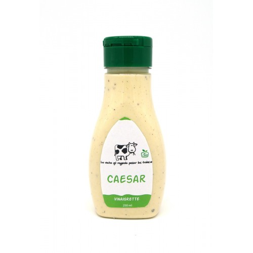 Vinaigrette caesar bio 250 ml (La vache qui regarde passer les trains)