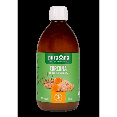 Curcuma flexibilité articulaire bio 500 ml (Purasana)