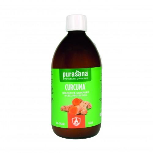 Curcuma joint flexibility bio 500 ml (Purasana)