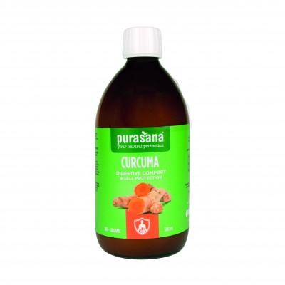 Curcuma confort digestif bio 500 ml (Purasana)
