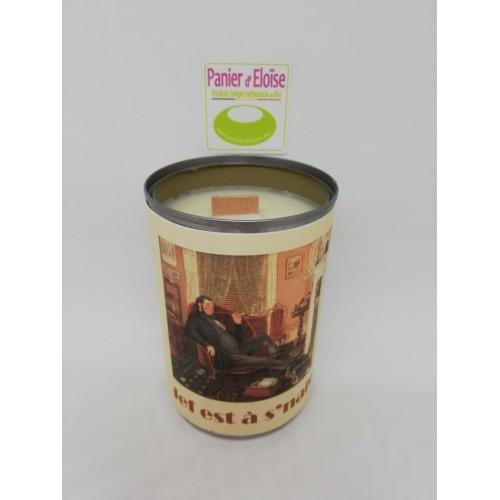 Kaars met appel kaneel parfum (Zeste de patine)