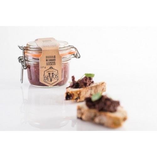 Boudin noir de canard au foie gras 125 g (Phil'cuisine)