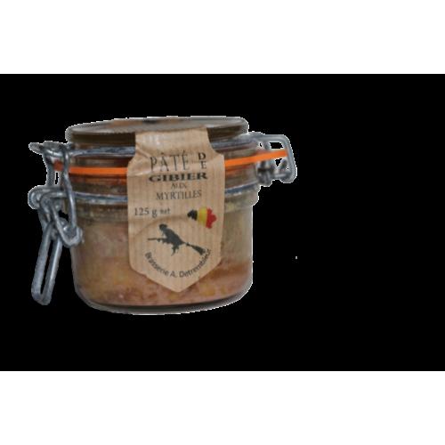 Pâté de gibier aux myrtilles 125 g (Phil'cuisine)