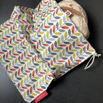 Herbruikbare zak voor brood -  Sven  grand (Flax & Stitch)