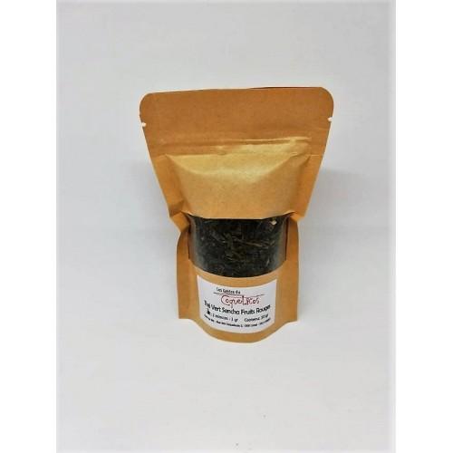 Thé sencha fruits rouges (Les gelées du coquelicot)