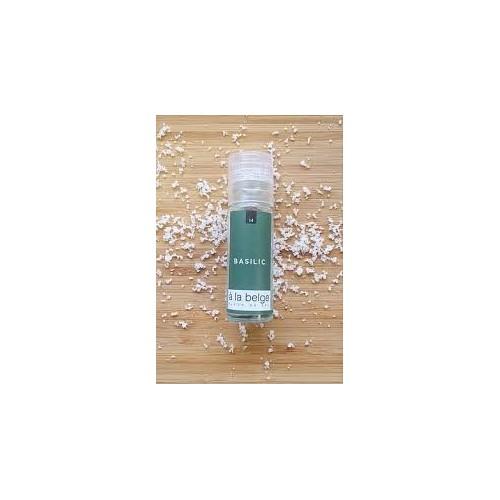 Fleur de sel met basilic 30 g (A la belge)