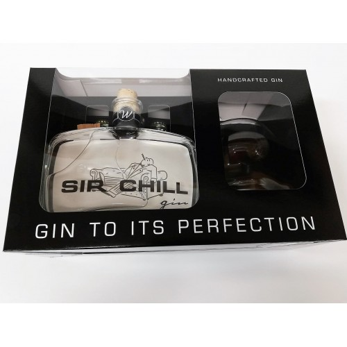 Coffret Gin Sir Chill 50 cl + 1 verre + 2 tonic (Best Creators)