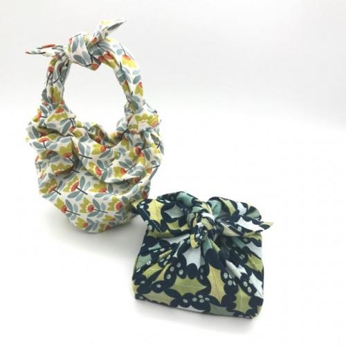 Furoshiki 24 x 24 cm  (Flax & Stitch)