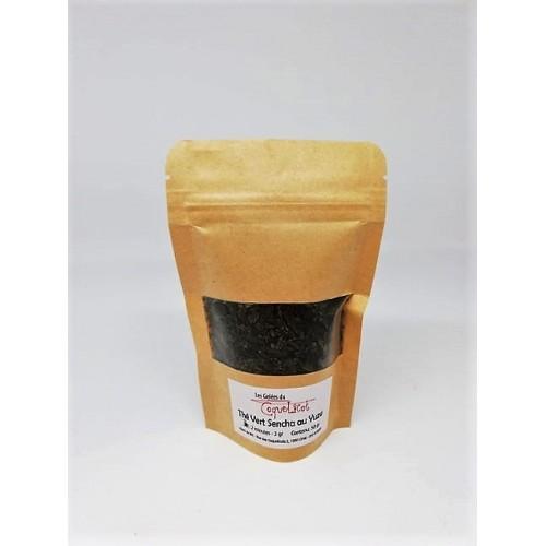 Thé vert sencha au yuzu 50 g (Les gelées du coquelicot)