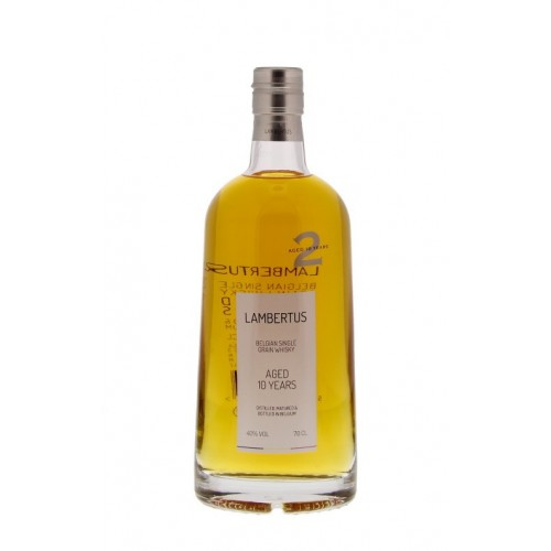 Koffer Lambertus 10 Years Single Grain Whisky 70 cl  + 1 glas (Distillerie Radermacher)