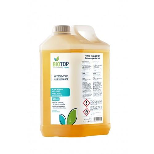 Nettoie-tout concentré au citron 5 L (Biotop)