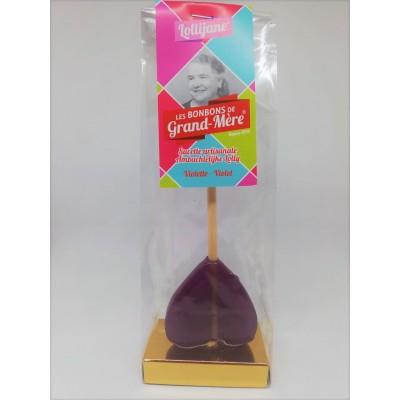 Sucette violette (Bonbons de Grand-Mère)