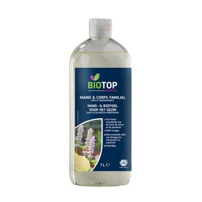 Gel lavant pour main et corps 1 litre (Biotop)