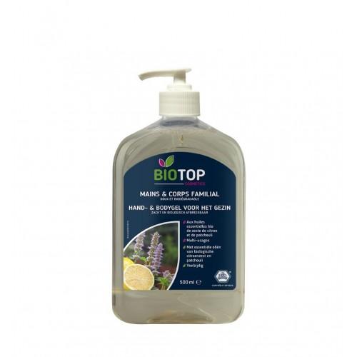 Wasgel voor handen en lichaam ECO 1 L