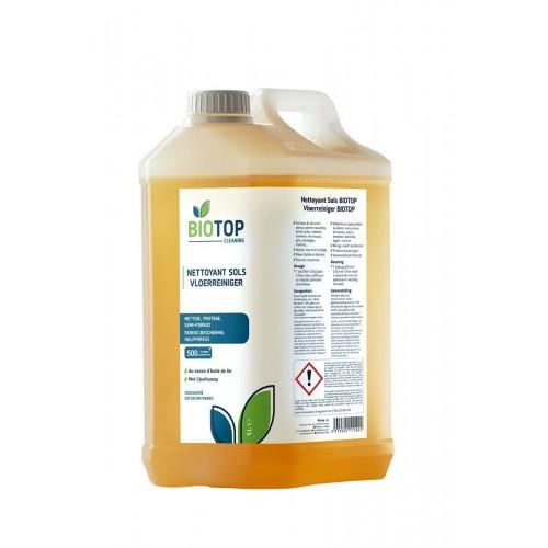 Nettoyant surface concentré à l'huile de lin 5 L ( Biotop)