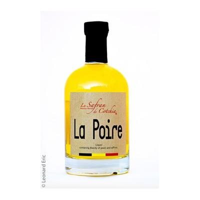 Liqueur de poire 20 cl (Safran de Cotchia)