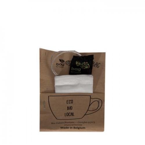Linnenezak voor thee (Bag to green)