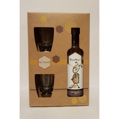 Coffret Pipi d'Abeille Découverte 1 bouteille 20 cl + 2 verres (Dar-Dar)
