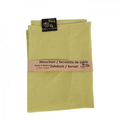 Mouchoir en lin (Bag to green)