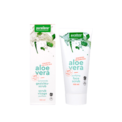Aloe Vera gommage purifiant visage bio 100 ml (Purasana)
