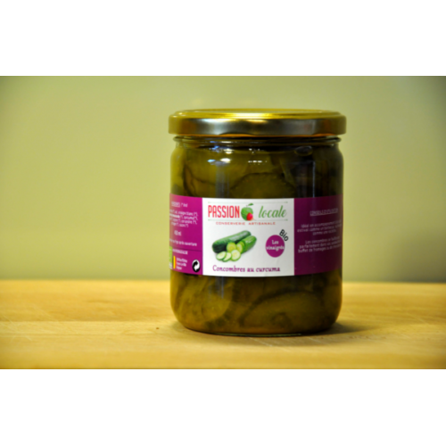 Komkommer met kurkuma bio (Passion locale)