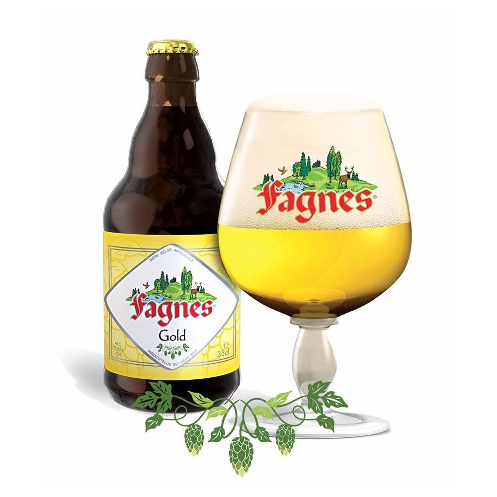 Gold  Fagnes 33 cl