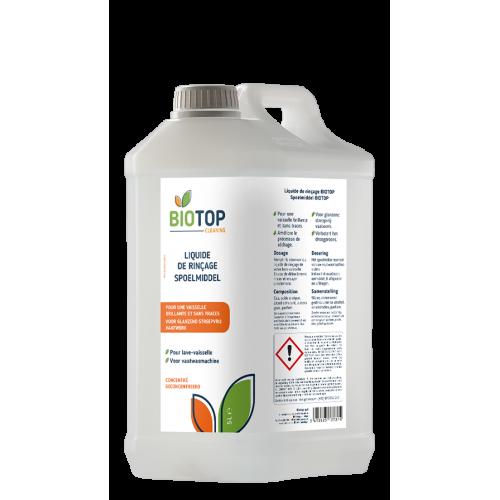 Liquide de rinçage concentré pour lave-vaisselle 5 L (Biotop)