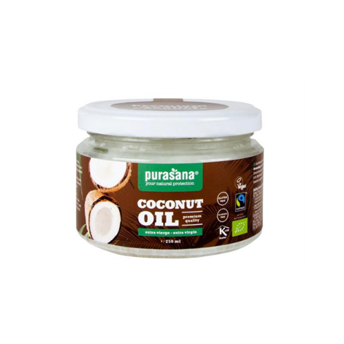 Huile de coco extra vierge 250 ml (Purasana)