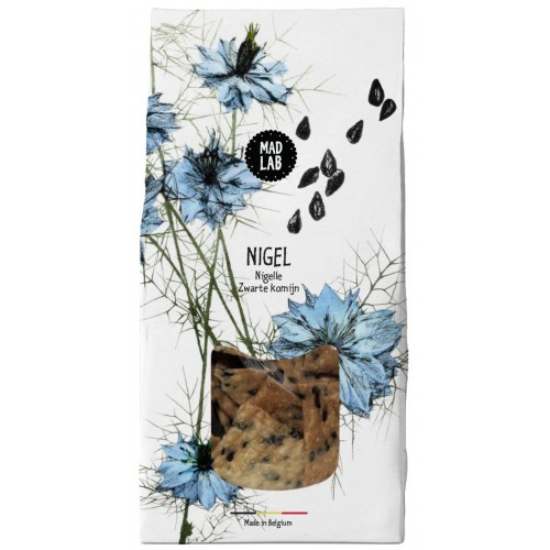 Crackers nigelle 110 g bio (Mad Lab)