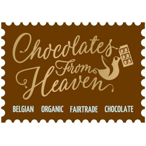 Chocolat au lait avec amandes caramélisées et sel bio 100 g dlc 30/10/2019(Chocolate from Heaven)