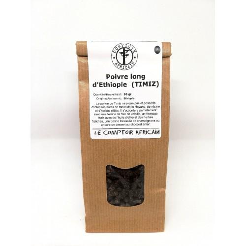 Lange peper uit Ethiopë 50 g   (Comptoir africain)