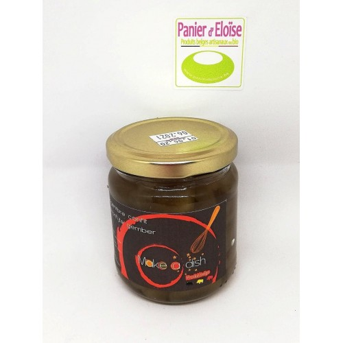 Gingembre confit 180 g  (Make a dish)