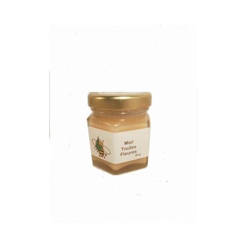 Miel toutes fleurs 50 g (Mosans)