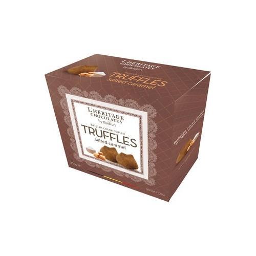 Chocolade truffels met gezouten karamel 200 g