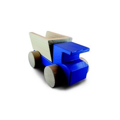 Camion bleu et sa benne basculante/Le Roi