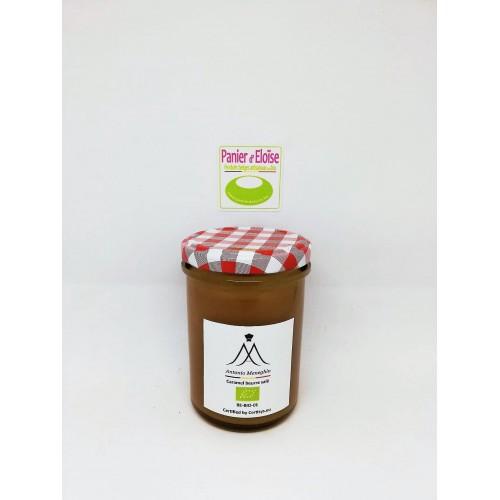Smeerpasta karamel met gezouten boter bio 225 g (Antonio Meneghin)