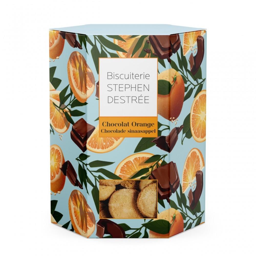 Biscuit Intense chocolat orange (Biscuiterie Destrée)
