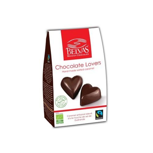 Coeurs au caramel salés bio & Fairtrade (Belvas)