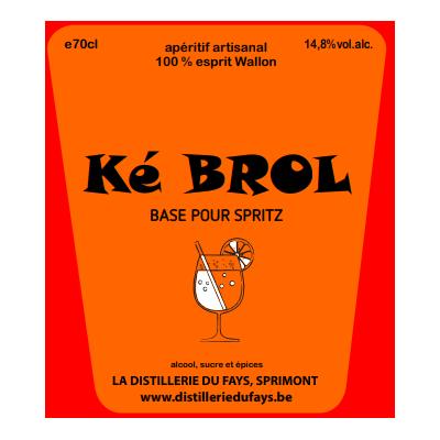 Ké Génépi  70 cl (Distillerie du Fays)