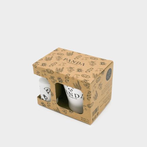 Koffer Baby Gin Panda 5 cl + 1 onbreekbaar glas