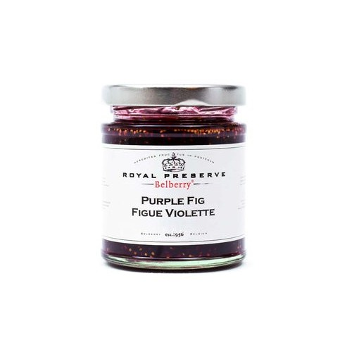 Confiture extra figue violette  215 g (Belberry)