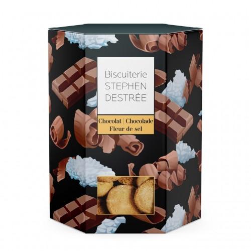 Intense chocolade koekjes 100 g  (Biscuiterie Destrée)