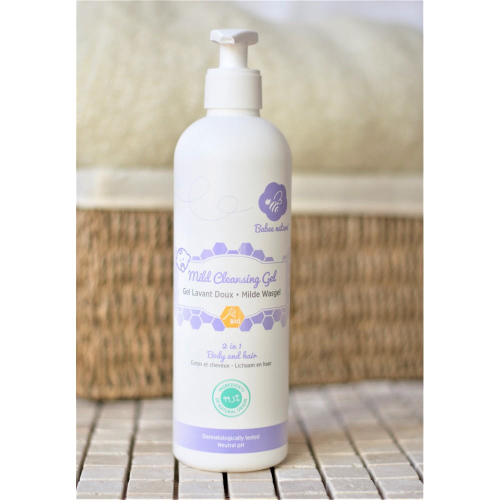 Gel lavant doux 500 ml (Babee Nature)