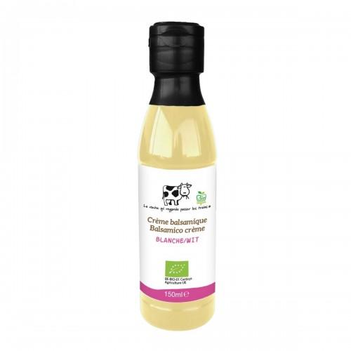 Crème balsamique bianco bio 150 ml (La vache qui regarde passer les trains)
