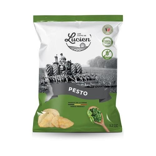 Les chips de Lucien pesto 125 g