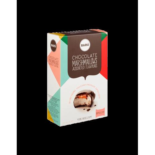 Marshmallows melk chocolade 120 g (Barù)